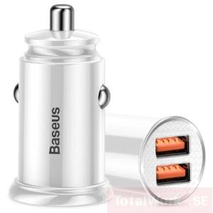 Baseus Billaddare Dual USB 30W, Q.C3.0